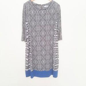 Peter Nygard Plus Size Stretch Dress Size 1X